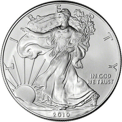 2010 American Silver Eagle - Brilliant Uncirculated