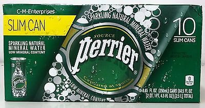 Perrier Sparkling Natural Mineral Water 10 pack