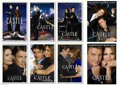Castle: Seasons 1-8 Brand New Factory Sealed