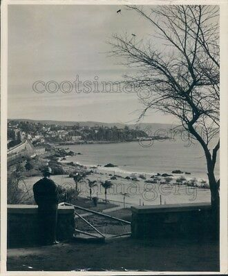 1966 Press Photo Seaside Town 1960s Chile Location Unknown