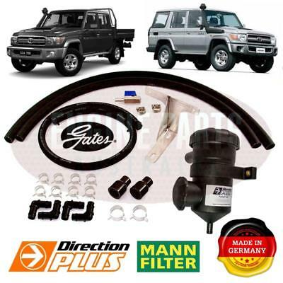 ProVent Toyota Landcruiser 79-series V8 oil catch can kit diesel 2007-2018