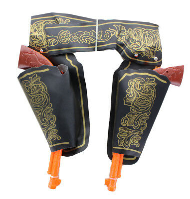 Deluxe Double Gun & Holster Costume Accessory Set Adult One Size