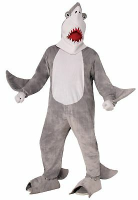 Plush Chomper the Shark Adult Costume One Size Fits Most