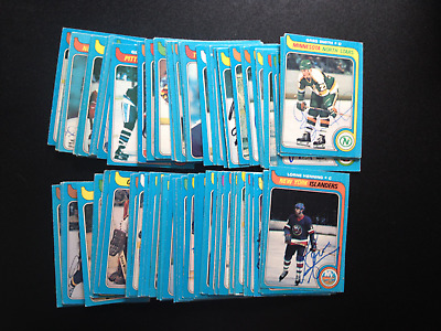 1979-80 O-Pee-Chee OPC Hockey Autographed Signed Cards (You Choose)