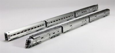 Kato N  Chicago Burlington and Quincy E5A and Silver Streak Zephyr 6PC KAT106090