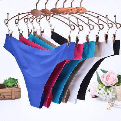 Women Soft Underpants Lady Seamless Lingerie Briefs Hipster Underwear Panties CA