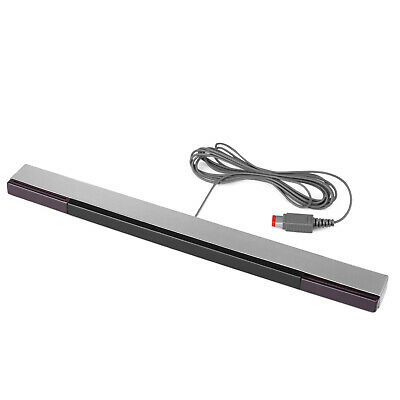 Wired Infrared Motion Sensor Bar Replacement for Nintendo Wii / Wii U Consoles