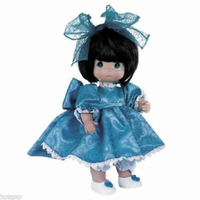 """Precious Moments I'm So Sorry Brunette 12"""" Doll #4732"""