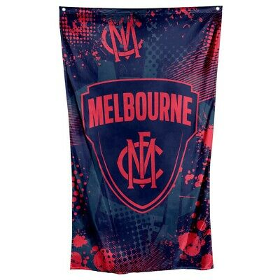 Melbourne Demons AFL Cape Wall Flag Man Cave Christmas Birthday Game Day Gift