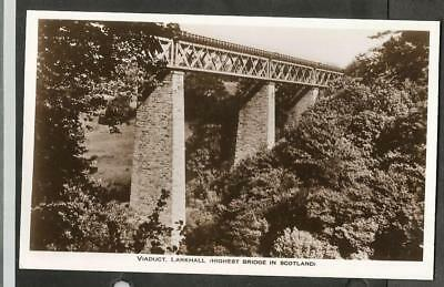 MUX Early Postcard, Larkhall Railway Viaduct, Lanark