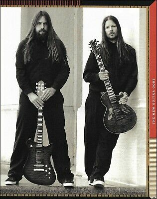 Lamb of God Mark Morton Willie Adler 8 x 11 b/w pin-up photo print