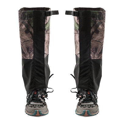 Outdoor Waterproof Hiking Gaiters Men Women Snow Boot Anti Wind Poof Gaiter Nylon Camping Teekking Skiing Snow Leg Gaiters Sports & Entertainment