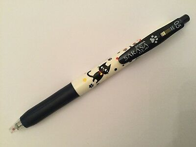 Zebra Sarasa Clip Gel Ink Pen 0.5mm (blue-black)--cat friends special edition