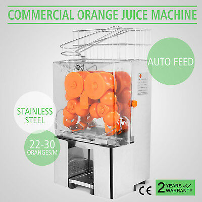 Commercial Electric Orange Squeezer Juice Fruit Maker Machine Lemon Citrus