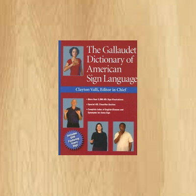 Clayton Valli The Gallaudet Dictionary of American Sign Language books Pages 656