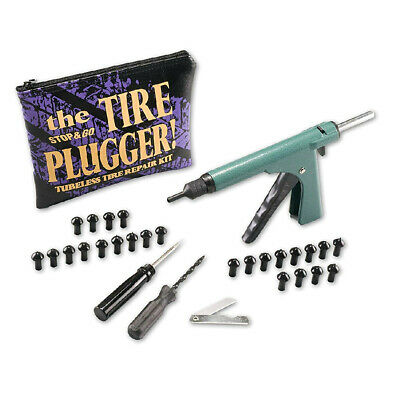Stop and Go Standard Tyre Plugger Tool Kit With 25 3/4 inch Plugs-Tubeless Tyres
