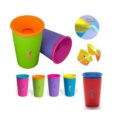 Wow Cup Kids - Red - Drinking Spill 360 Beaker Free