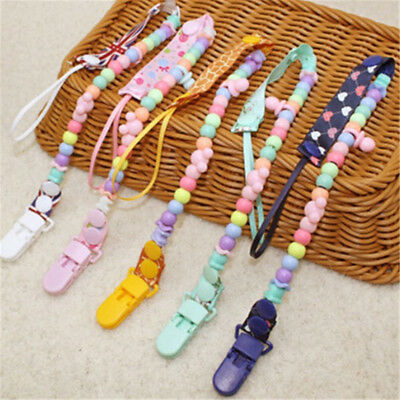 Baby Pacifier Clip Holder for Nipple Teether Chain Infant Nipple Clip Holders UK