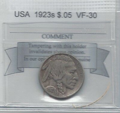 **1923s** USA, Nickel 5 Cent, Coin Mart**