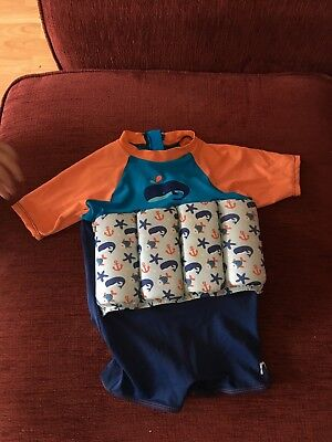 644270839 MOTHERCARE SWIMSAFE FLOAT Suit 1-2 years RRP£23 - £5.20