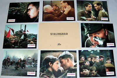 ENEMY AT THE GATES Jude Law WW2 Ed Harris Joseph Fiennes 8 FRENCH LOBBY CARDs