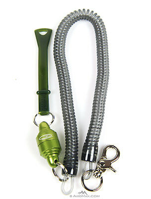 Fishpond Confluence Magnetic Net Release Retractor For Fly Fishing - Lichen