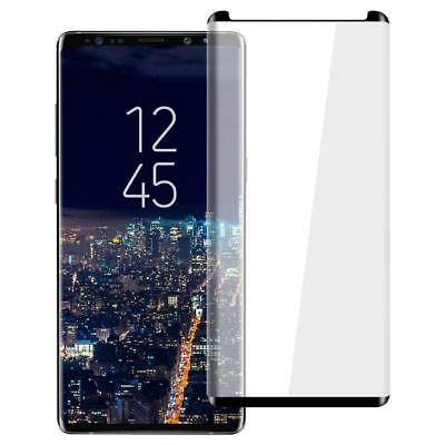 For Samsung Galaxy Note 9 Full Curved 3D Tempered Glass Screen Protector Clear #