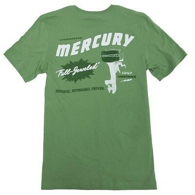 Mercury Lightning Tee - Leaf Green