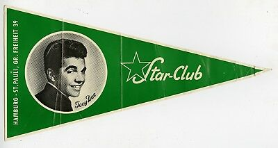 Joey Dee 1960s Star Club Germany Original Promotional Pennant