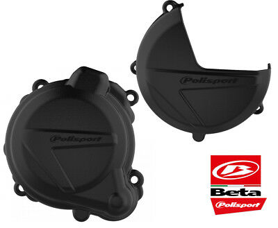 Clutch & Ignition Cover Protectors BETA 250 300 RR 2013-17 X-TRAINER 300 2016-18
