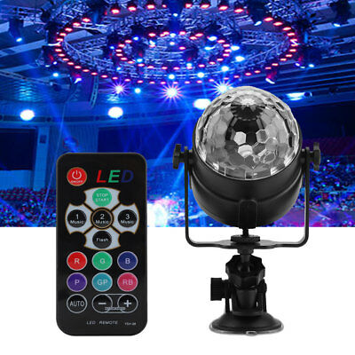 Disco Party Lights Ball Stage Light Strobe LED DJ Indoor Сolored Dance Bulb Lamp