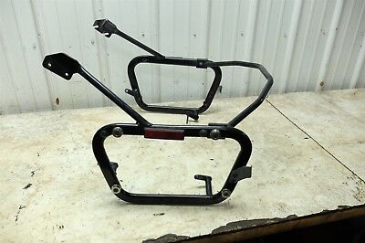 12 Moto Guzzi Stelvio NTX 1200 rear saddle bag luggage rack trunk mount bracket