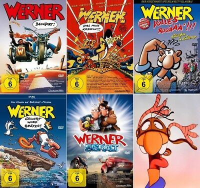 Werner - Beinhart! 1 - 5 Collection                                  | DVD | 250