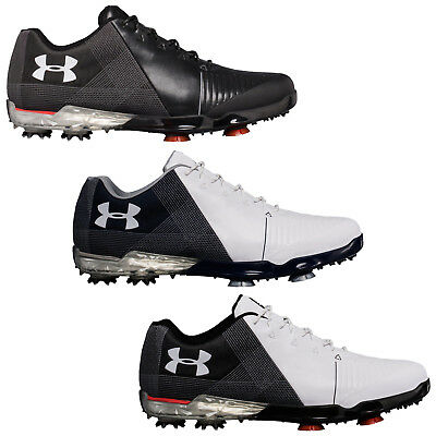 2018 Under Armour Mens Spieth 2 Golf Shoes - New UA Gore-Tex Waterproof Spiked
