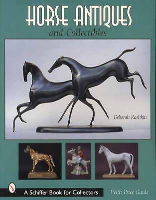 Horse Antiques Collector Guide incl Pottery Jewelry Figurines, Bronze & More