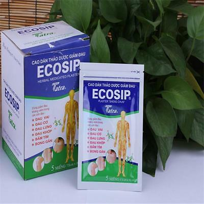 20x Pain Relief Patches HEAT PLASTERS PADS MUSCLE BACK ACHES HERBAL REMED