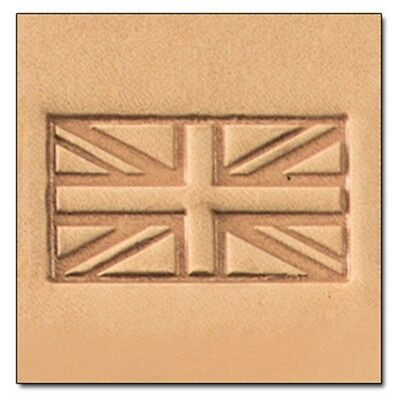 British Flag 3d Leather Stamping Tool - Craf Stamp 857800