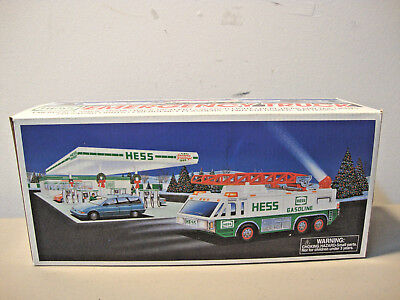 1996 *hess* Emergency Truck  *new In Box*   L@@k