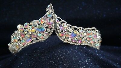 Ballet Tiara Jeweled Crown for Ballet Variation Dance and Stage