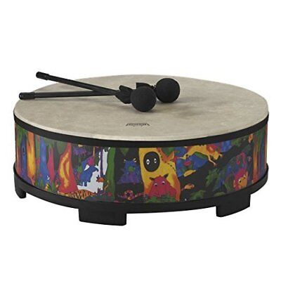 Remo KD-5822-01 Kids Percussion Gathering Drum - Fabric Rain Forest, 22""