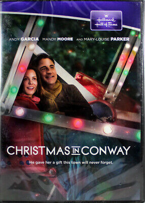 Christmas In Conway Hallmark Hall Of Fame NEW DVD Andy Garcia Mandy Moore