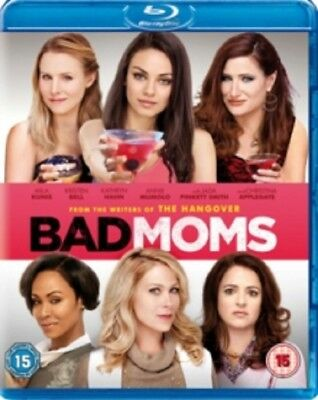 Bad Moms (Mila Kunis, Christina Applegate, Kristen Bell) New Region B Blu-ray