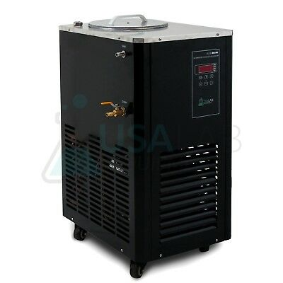 USA Lab Equipment 110V 5L -10°C Recirculating Chiller - 30L/Min Flow Rate