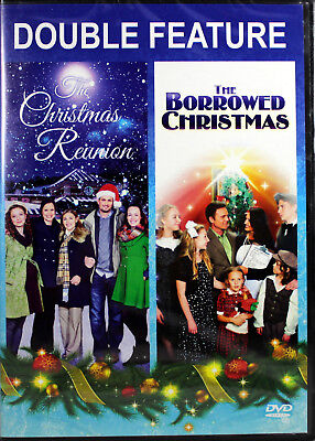 The Christmas Reunion / The Borrowed Christmas NEW DVD Double Feature Family