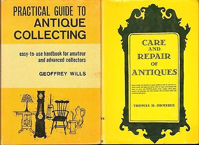 Practical Guide to Antique Collecting & Care and Repair of Antiques (2 Books)