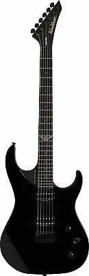 Washburn 6 String Solid-Body Electric Guitar, Black Gloss (PXS100B-D)