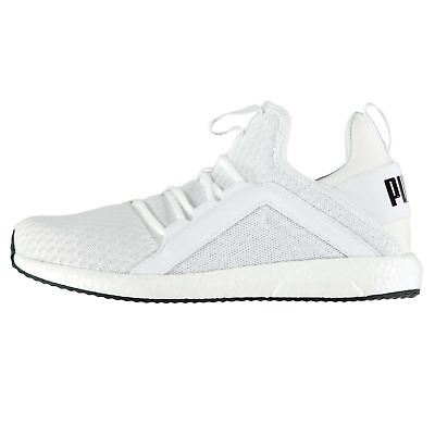 d7692917133 Puma Mega NRGY Running Shoes Womens White Run Jogging Trainers Sneakers