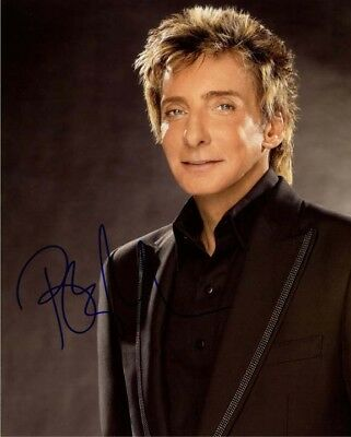 BARRY MANILOW signed autographed 11x14 photo