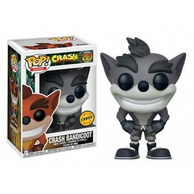 Funko Pop Games Vinyl Figura Crash Bandicoot Limited Chase 273 New