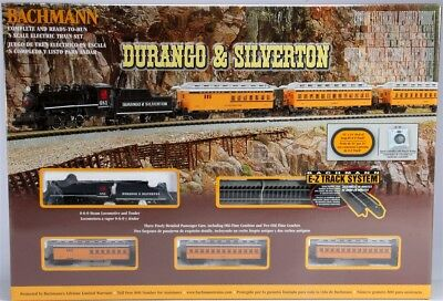 Bachmann N Durango & Silverton Train Set  BAC24020